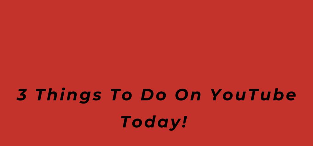 3 Things To Do On YouTube Today!, coronavirus, Covid-19, music business 101, BlackbirdPunk Consulting, Digital Consulting for the Music Industry, music industry digital entertainment agency, Berlin, berlin, digital, work digital, freelancer digital music industry
