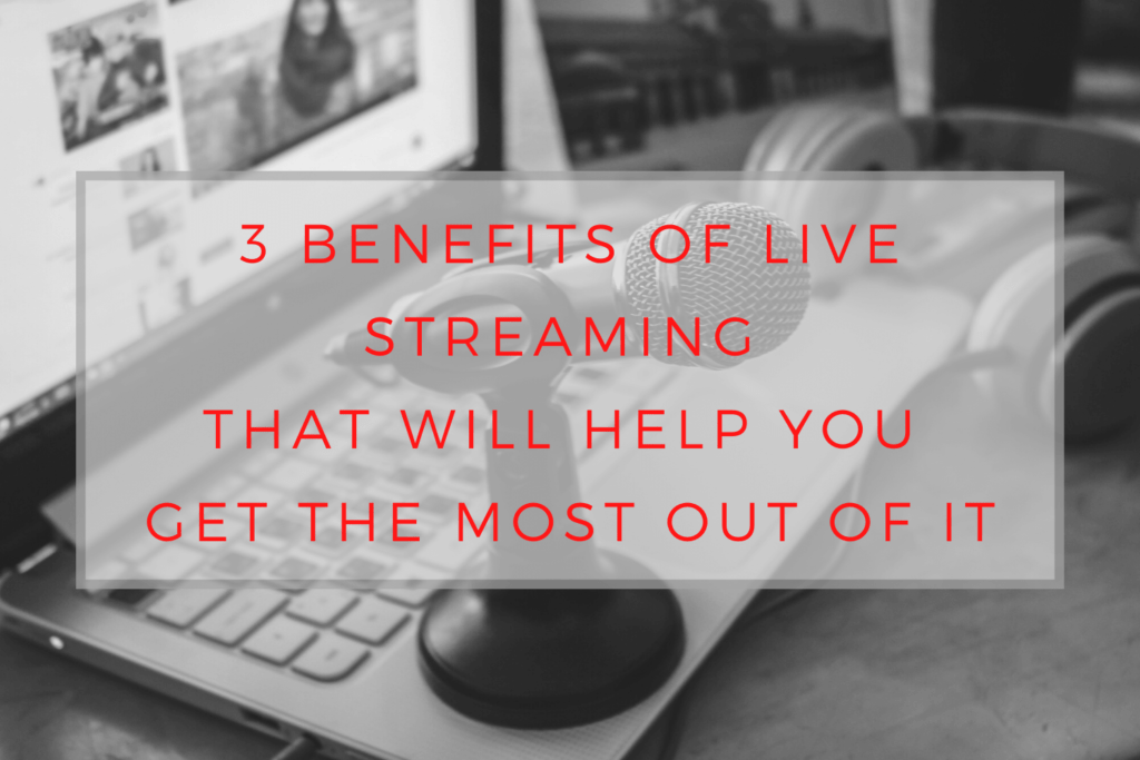Benefits of live streaming, quality features of musician websites