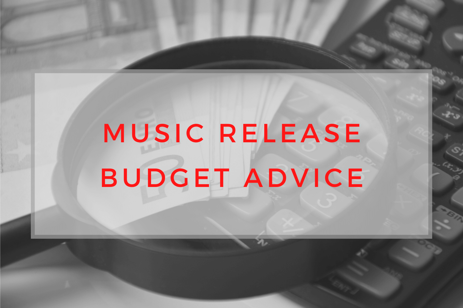 Music Release Budget Advice, quality features of musician websites