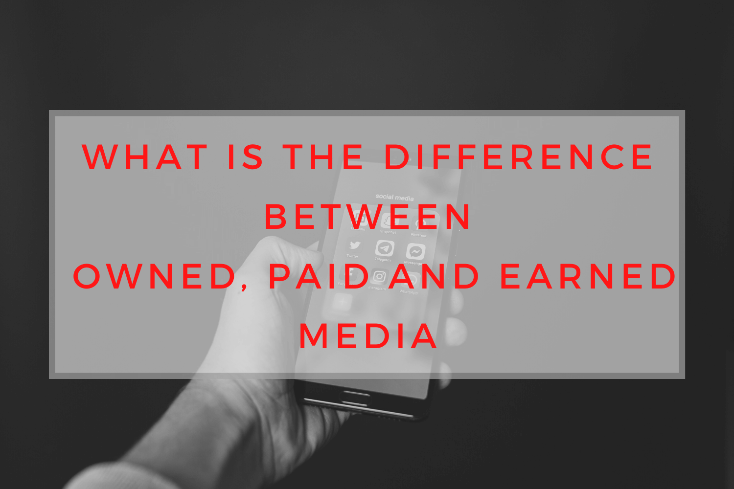 owned, paid and earned media, saralenaprobst.com, Blog about Music, Music Blog, BlackbirdPunk, Blackbirdpunk Consulting, Digital Consulting for the Music Industry, music industry digital entertainment agency, Berlin, berlin, digital, work digital, freelancer digital music industry