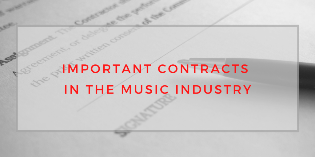 important contracts in the music industry, music contracts, record label deal, publishing contract,BlackbirdPunk Consulting, Digital Consulting for the Music Industry, music industry digital entertainment agency, Berlin, berlin, digital, work digital, freelancer digital music industry